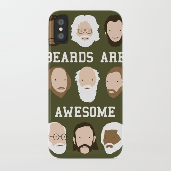 Beards Are Awesome iPhone Case