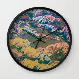 Golden Land Wall Clock