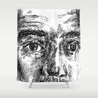 ali Shower Curtains featuring Ali by Hitit