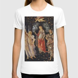 LA PRIMAVERA-- SANDRO BOTTICELLI  (entire painting) T-shirt
