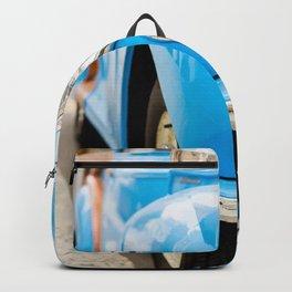 Blue car Backpack