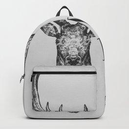 Grey Wild & Free Stag Traveller Deer Backpack