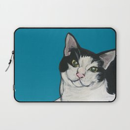 """Achilles the """"Cat From Hell"""" Laptop Sleeve"""