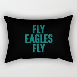 Fly Eagles Fly Philadelphia Football Rectangular Pillow