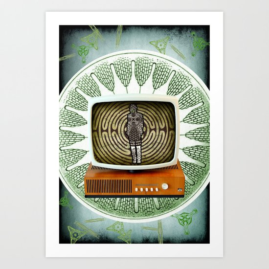 Interior Broadcast Art Print
