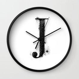 J. - Distressed Initial Wall Clock