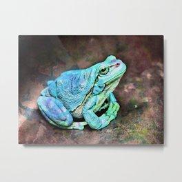 The InFocus Happy Frog Collection VIII Metal Print