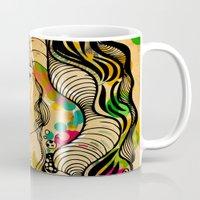 dots Mugs featuring Dots by Irmak Akcadogan