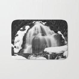 Winter Arch Waterfall Bath Mat