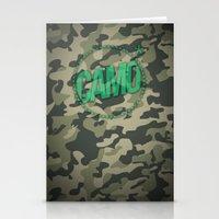 camo Stationery Cards featuring Camo by GabrieleCigna