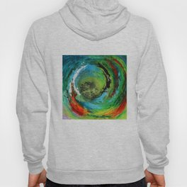 Maelstrom, captivating abstract painting Hoody
