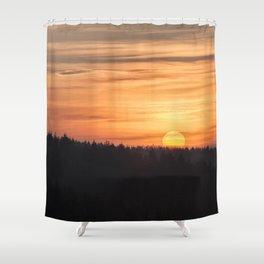 Spring Sunrise 1 Shower Curtain