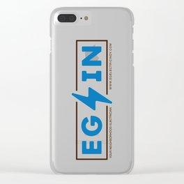 EG/IN Clear iPhone Case