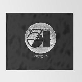 Studio 54 - Discoteque Throw Blanket