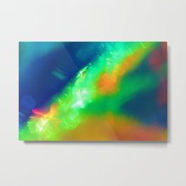 Colossal Collision Metal Print