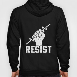 Anti Trump Nasty Woman Protest Trump Resist March Resistance Not My President Activist Feminist Anti Hoody