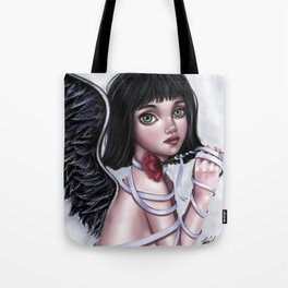 Her dark,lovely soul Tote Bag