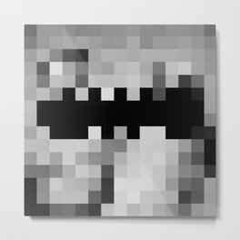 Magna Pixel Carta Metal Print