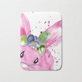 Easter Bunny Peek A Boo Bath Mat