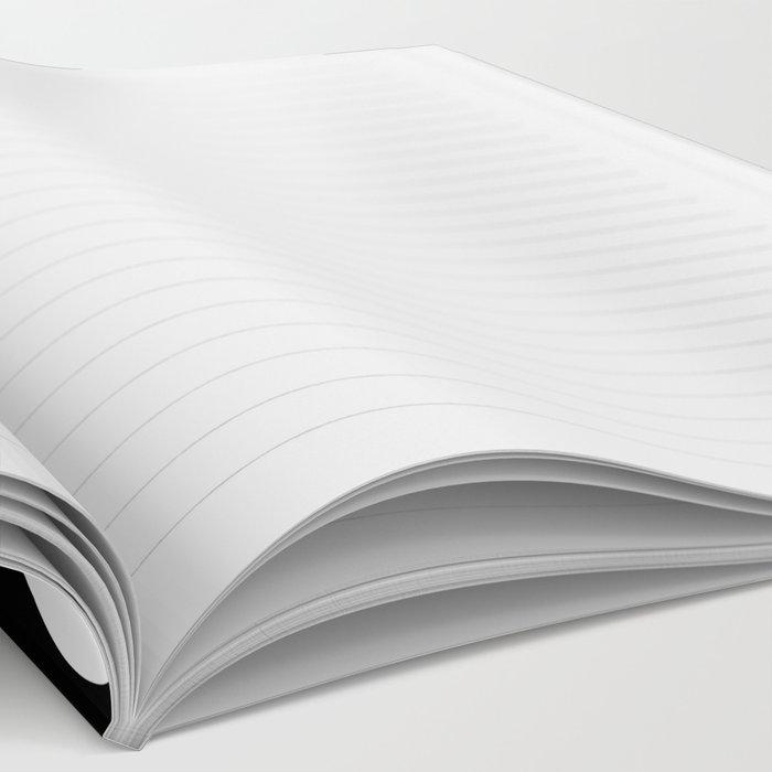 Polkadot (White & Black Pattern) Notebook