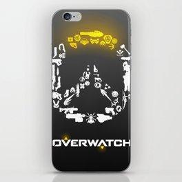 Heroes need weapons iPhone Skin
