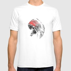 Indianian  Mens Fitted Tee White MEDIUM