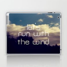 Let's Run With The Wind Laptop & iPad Skin