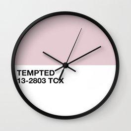 tempted Wall Clock