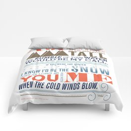 All I Want Is You Comforters