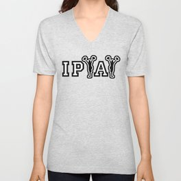IPYAY cheer for craft beer Unisex V-Neck