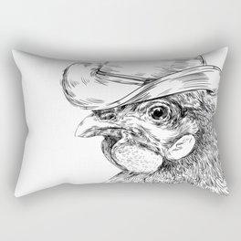 Cowboy cock Rectangular Pillow
