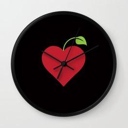 Love fruits and veggies Wall Clock