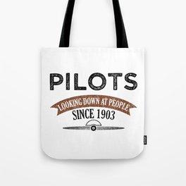 Pilot Proud Aviation Lover Gift Idea Tote Bag