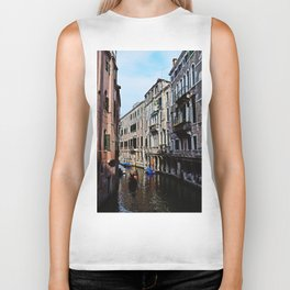 Venice the city of Canals Biker Tank