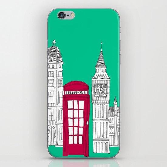 Capital Icons // London Red Telephone Box iPhone & iPod Skin