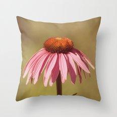 Basking in Summer's Glow Throw Pillow