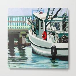 Dock on the Bay Metal Print