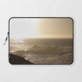 California Ocean at sunset Laptop Sleeve