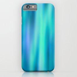 Mermaid Lake - Blue Green Aesthetic iPhone Case