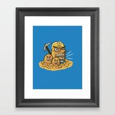 Mr. Resettrio Framed Art Print