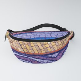 Mosaic Abstract 2 Fanny Pack
