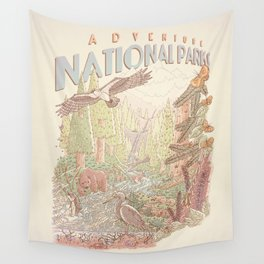 Adventure National Parks Wall Tapestry