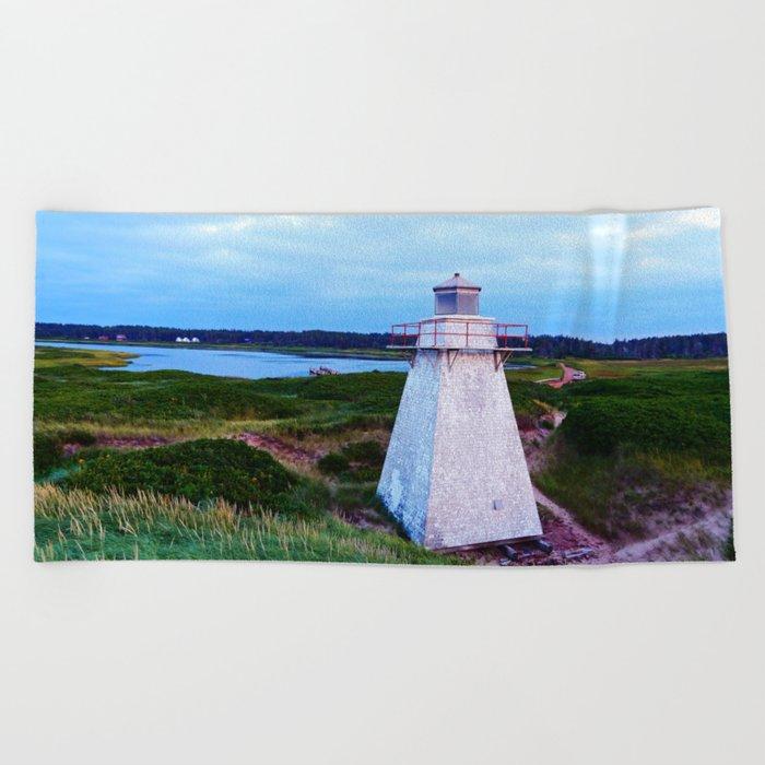 St-Peter's Harbour Lighthouse Beach Towel