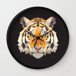 PolyTiger Wall Clock
