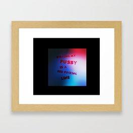 nanette cole, alternate design Framed Art Print