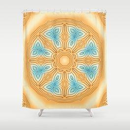 Sea Beach Summer Kaleidoscope Abstract Pattern Shower Curtain