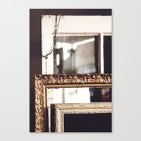 frames Canvas Prints featuring Frames by Allison Dandrea