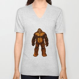 SASQUATCH MOVEMENT Unisex V-Neck