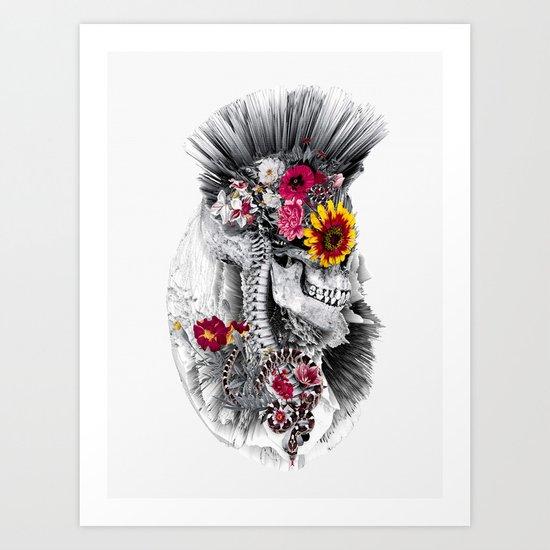 Momento Mori Punk Art Print