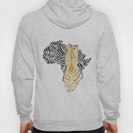 African Tribal Pattern No. 43 Hoody